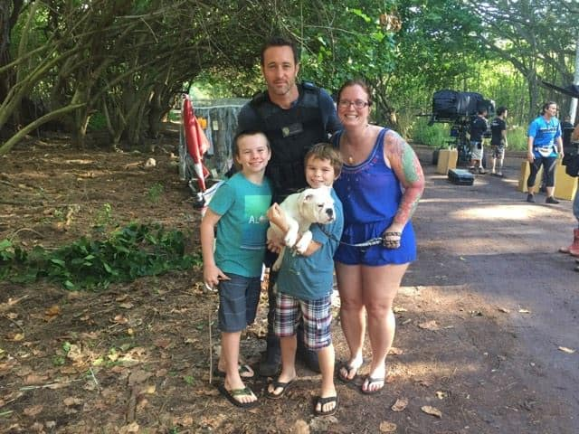 alex o'loughlin and th davis family
