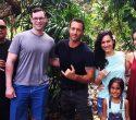 alex o'loughhlin and fan family