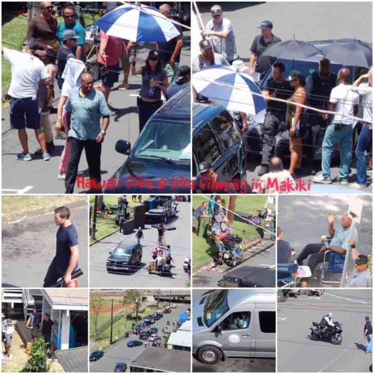 Alex O'Loughlin behind the scenes season 7
