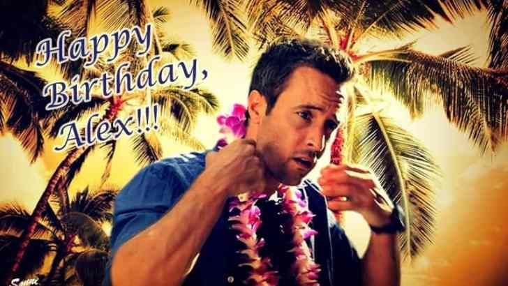 Alex O'Loughlin Birthday FanArt