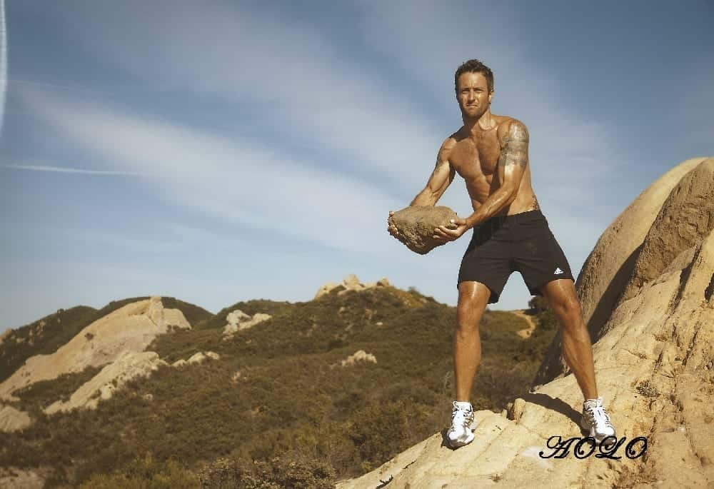 Alex O'Loughlin Mens Fitness Photoshoot