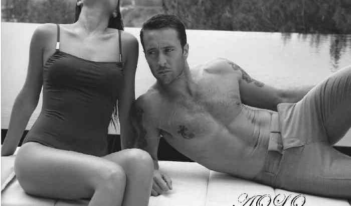 Alex O'Loughlin GQ Photoshoot- More Rare Photos