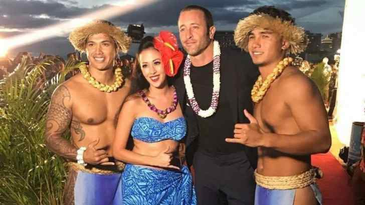 Picture Compilation Of Alex O'Loughlin At Sunset On The Beach Season 8