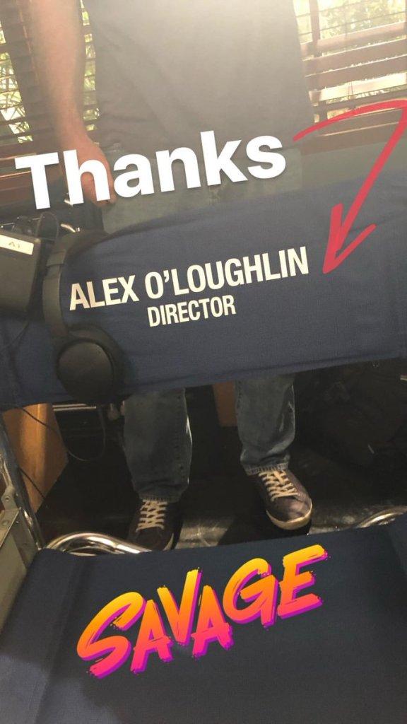 alex o'loughlin director's chair