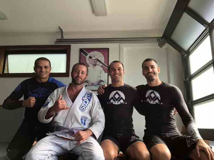 alex o'loughlin and ryron gracie