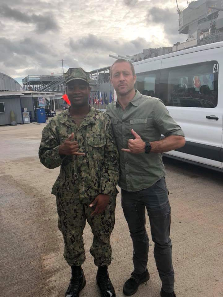 alex o'loughlin military fan photo