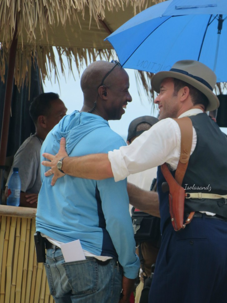 Alex O'Loughlin behind the scenes 200