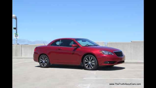 2012 Chrysler 200 S Convertible Review