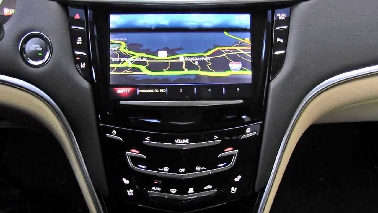 2013 Cadillac CUE (Cadillac User Experience) Infotainment