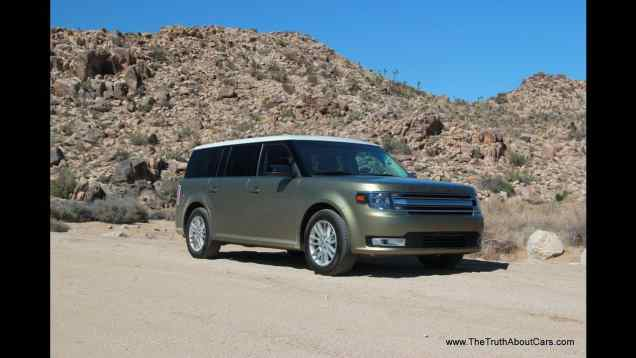 2013 Ford Flex Drive Review (SEL AWD)