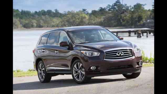 2013 Infiniti JX35 Crossover Drive Review with Infotainment Overview