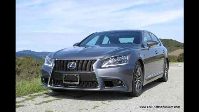 2013 Lexus LS 460 F-Sport Review with Infotainment Overview and Road Test
