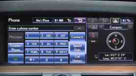 2013 Lexus LS Infotainment Review (Lexus Enform)