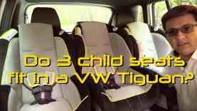 2014 / 2015 Volkswagen Tiguan Child Seat Review