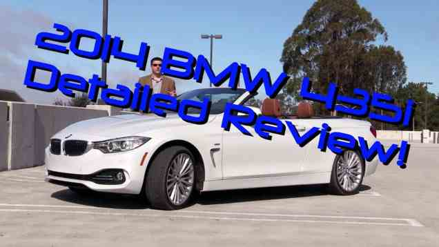 2014 BMW 435i Convertible Detailed Review and Road Test