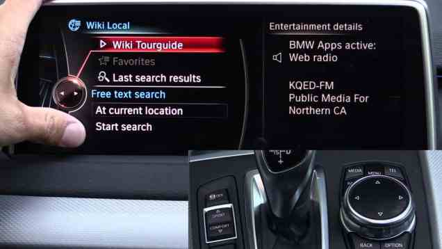 2014 BMW iDrive Touch Infotainment Review ( with finger writing recognition)