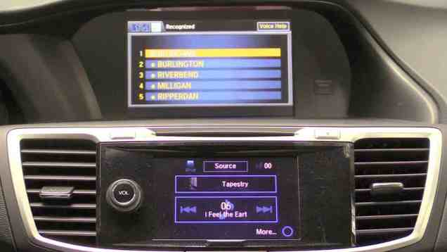 2014 Honda Accord HondaLink Infotainment Review