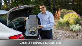 2014 Honda Civic Child Seat Review