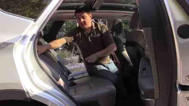 2014 Hyundai Santa Fe Sport Child Seat Review