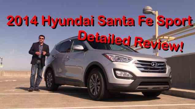 2014 Hyundai Santa Fe Sport Detailed Review and Road Test