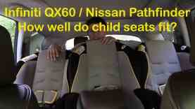 2014 Infiniti QX60 and Nissan Pathfinder Child Seat Review