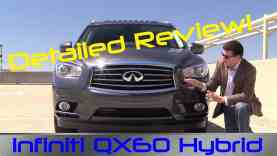 2014 Infiniti QX60 Hybrid Detailed Review and Road Test
