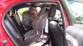 2014 Lexus CT 200h Hybrid Hatchback Child Seat Review