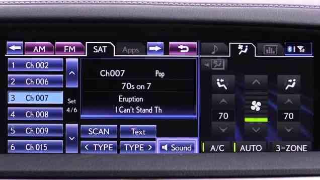 2014 Lexus GS 450h Enform Infotainment Review