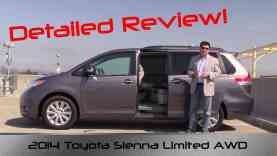 2014 Toyota Sienna Limited AWD Detailed Review and Road Test