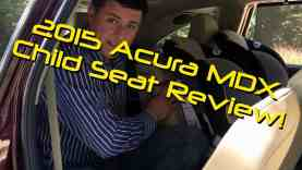 2015 Acura MDX Child Seat Review – Graco Classic Ride 50