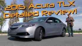 2015 Acura TLX Detailed Review and Road Test