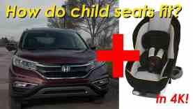 2015 Honda CR-V Child Seat Review – In 4K