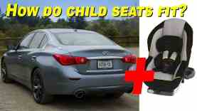 2015 Infiniti Q50 and Q50 Hybrid Child Seat Review