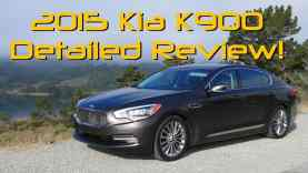 2015 Kia K900 (AKA K9 and Quoris) Detailed Review and Road Test