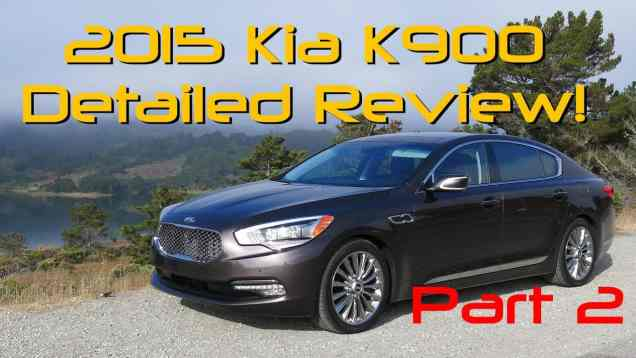 2015 Kia K900 Detailed Review and Road Test Part 2 of 2