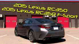 2015 Lexus RC 350 / RC 350 F-Sport First Drive Review and Road Test
