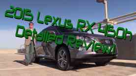 2015 Lexus RX 450h Hybrid Detailed Review and Road Test