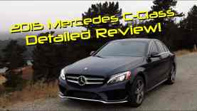2015 Mercedes C-Class C300 4Matic Detailed Review and Road Test
