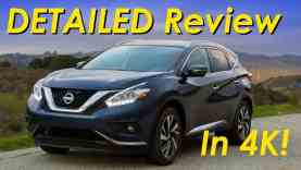 2015 Nissan Murano DETAILED Review and Road Test – In 4K!