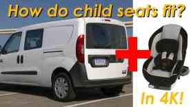 2015 RAM ProMaster City Wagon Child Seat Review – In 4K