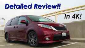 2015 Toyota Sienna Minivan DETAILED Review and Road Test – In 4K
