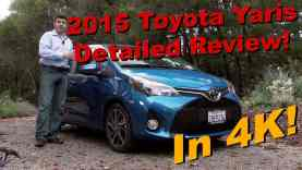 2015 Toyota Yaris 5 Door Detailed Review and Road Test