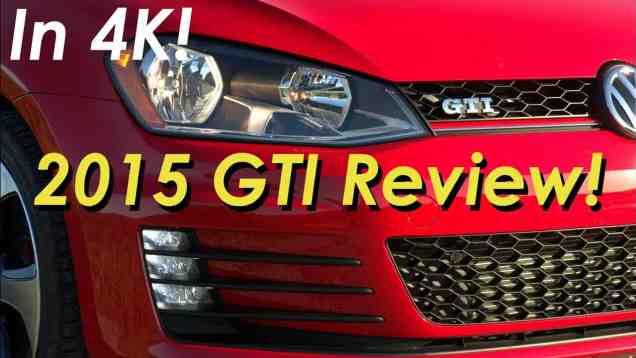 2015 Volkswagen GTI Review  2-Door – In 4K