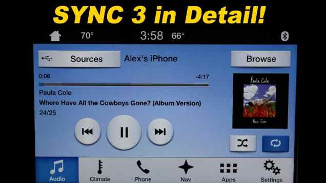 2016 Ford SYNC3 Review!