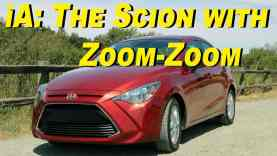 2016 Scion iA Review – Mono-priced Zoom-Zoom