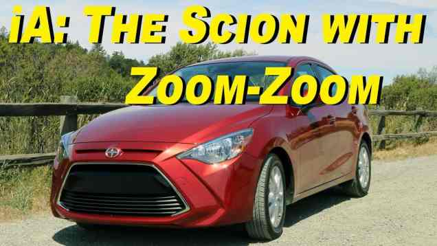 2016 Scion iA Review – Mono-priced Zoom-Zoom
