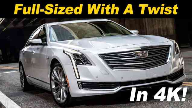 2017 Cadillac CT6 Review