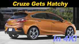 2017 Chevrolet Cruze Hatchback Review