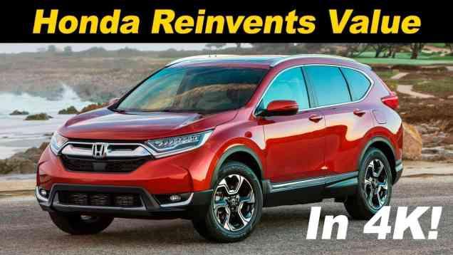 2017 Honda CR-V Reveiw