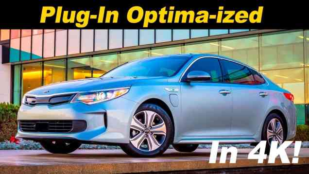 2017 Kia Optima PHEV Review
